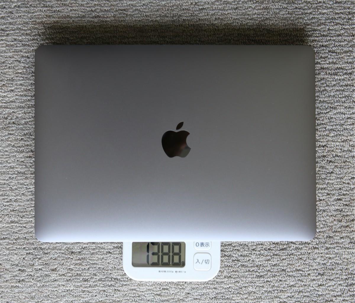 MacBookPro2020重さ
