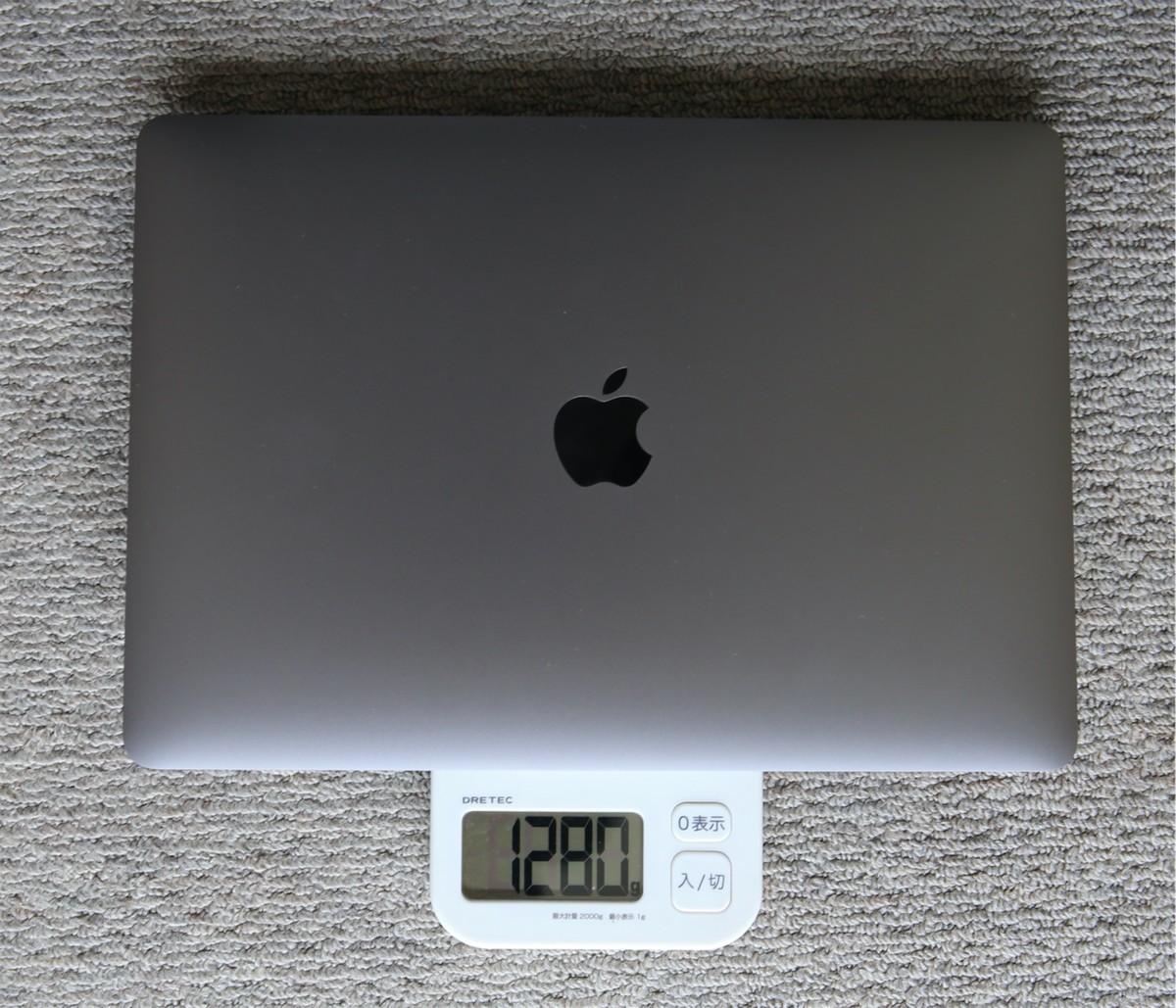 MacBookAir2020重さ